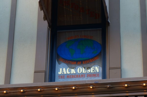 Jack Olsen ran the merchandising at Disneyland for many years and did the same in Disney World when it opened. He ran merchandising on both coasts until he retired in 1977.