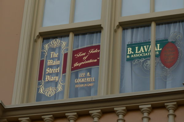 Cockerell has one of the newest windows on Main Street USA!
