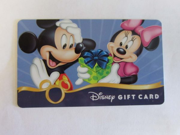 If you sign up for a Disney Credit Card, you might be eligible for a Disney Gift Card!