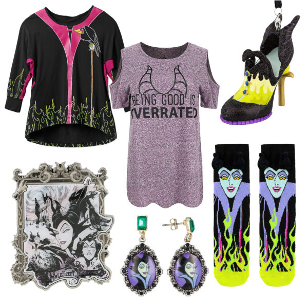 Celebrate Maleficient with some merch! Photo credits (C) Disney Enterprises, Inc. All Rights Reserved