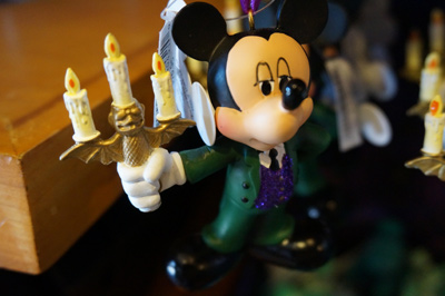 Check out this Mickey Christmas ornament.