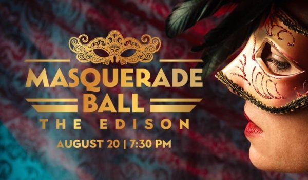 The Edison will host a Masquerade Ball. Photo credits (C) Disney Enterprises, Inc. All Rights Reserved