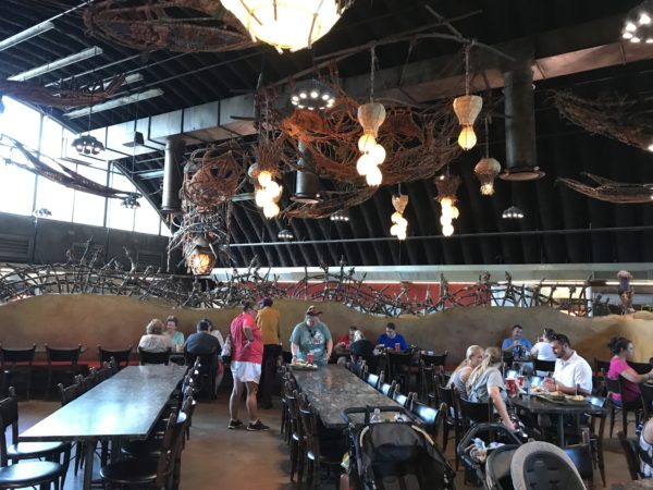 Satuli Canteen was the first Disney World Restaurant to offer mobile ordering.