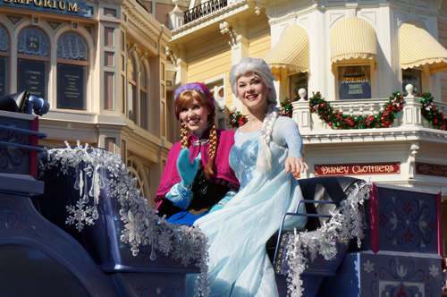 Anna & Elsa are some of the most popular princesses in town.