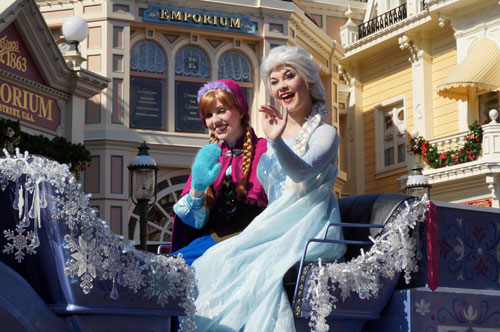 Anna and Elsa have a permanent home in the Norway pavilion.