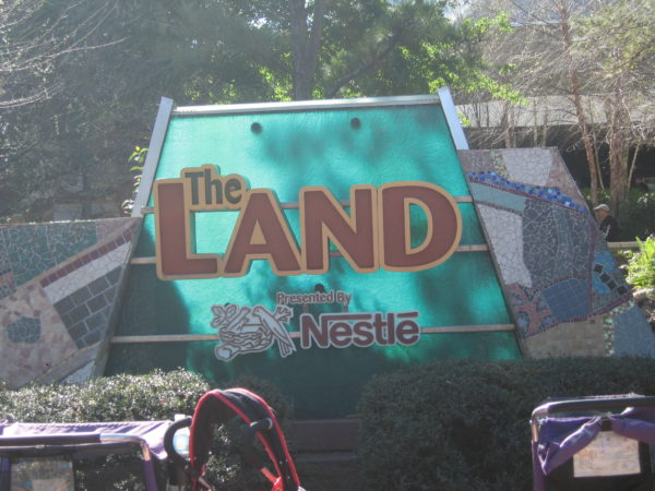 The Land is a great place to meet in Epcot!