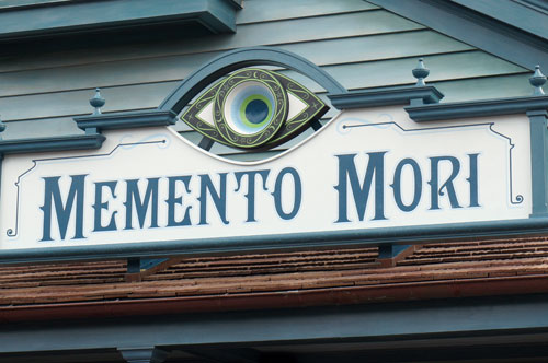Memento Mori is the new gift shop dedicated to the Haunted Mansion.