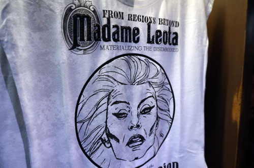 Attention Madame Leota fans - you may want this t-shirt.