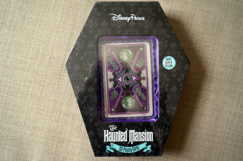 These Haunted Mansion playing cards will spice up your next game.