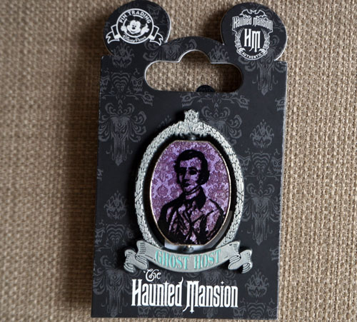 Ghost Host Disney Trading Pin.