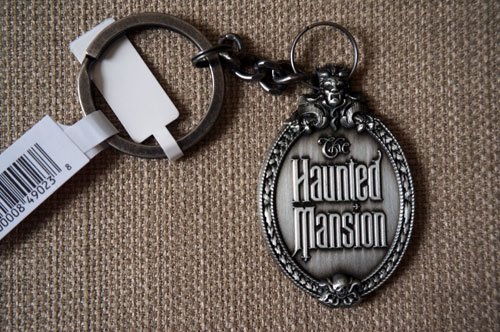 Haunted Mansion sign key chain.