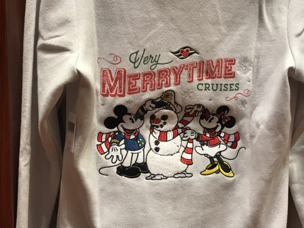 Mickey, Minnie, and snowman captain Very Merrytime Cruises hoodie $59.99