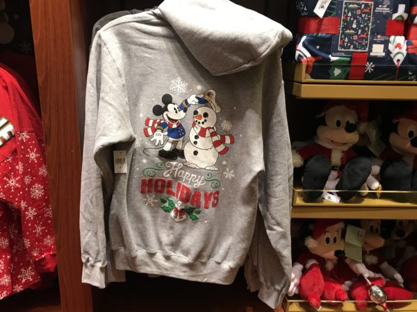 Happy Holidays from Mickey and the snowman captain! $54.99