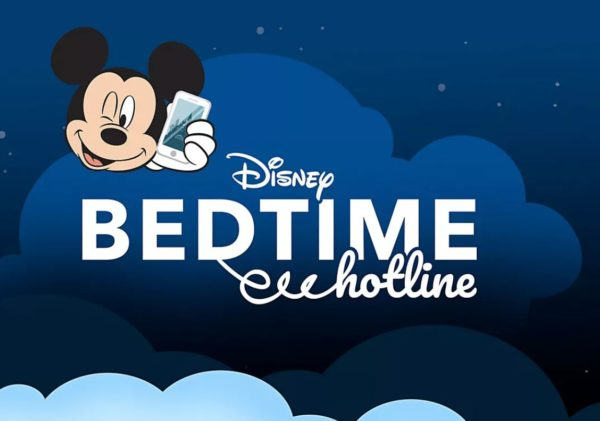 The Disney Bedtime Hotline is available now and free.