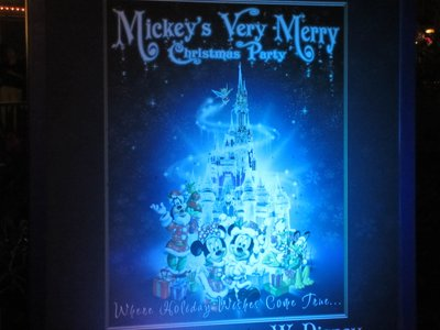 Mickey's Very Merry Christmas Party offers shows not available during normal park operating hours.