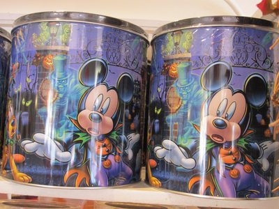 Mickey Mouse Halloween Tins