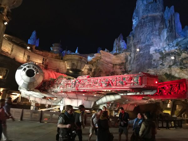 You can now get a FastPass+ reservation for Millennium Falcon.