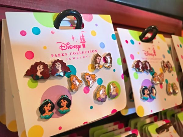 Interchangeable earrings? Why not? Let's try wearing one Jasmine and one Belle! $19.99!