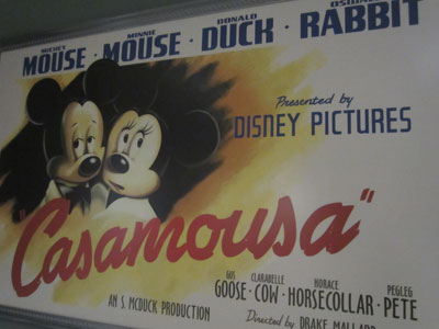 Nice big tribute to Casablanca.  I love the art.