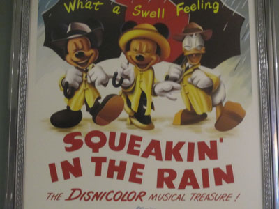 Squeakin' In The Rain in Disnicolor!