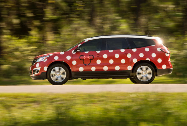It could be that Disney's Minnie Van service did in Express Transportation. Photo credits (C) Disney Enterprises, Inc. All Rights Reserved