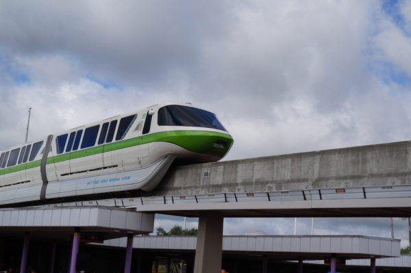 The monorail is still Disney's most unique form of transportation.