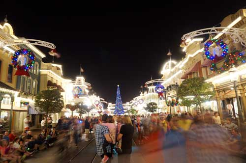 The view down Main Street is beautiful and perfect for photos or just enjoying the ambiance.