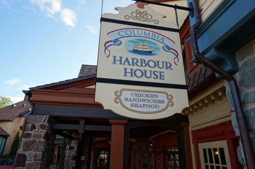 The Columbia Harbour House is a great quick service restaurant.