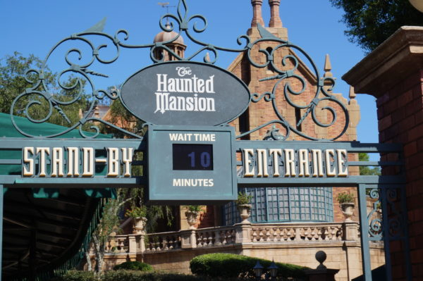 Just the name of The Haunted Mansion could be enough to deter some young guests.
