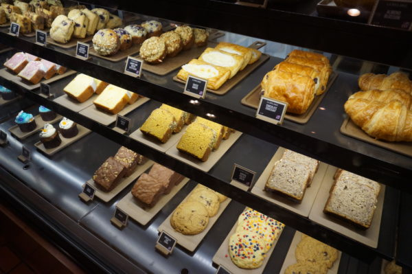 Take your pick from a variety of Starbucks beverages and pastries! Breakfast is on me!