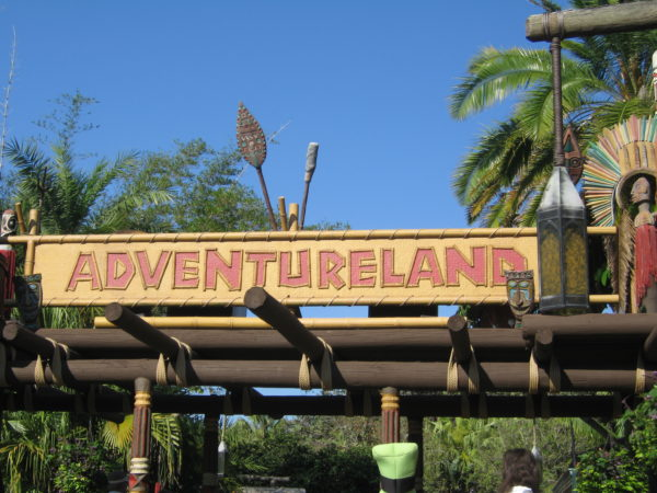 "A smart man always told me ""turn left"", so we're going to start in Adventureland!"
