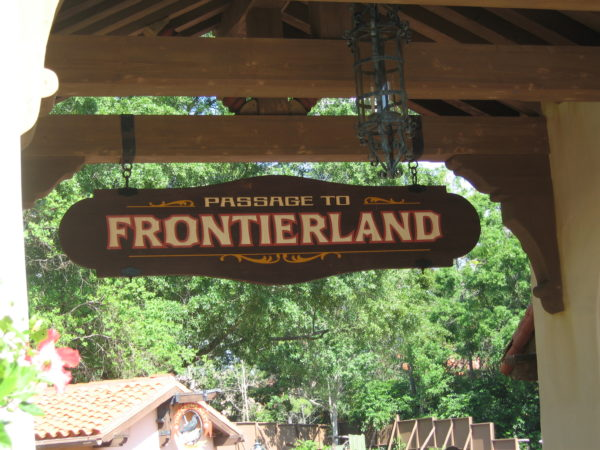 Next up is Frontierland!
