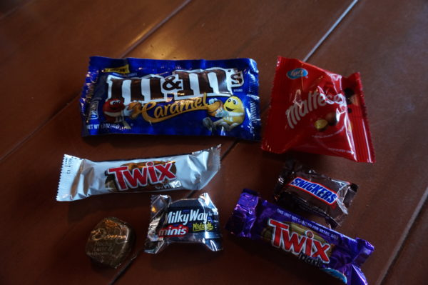 The candy isn't really anything special.