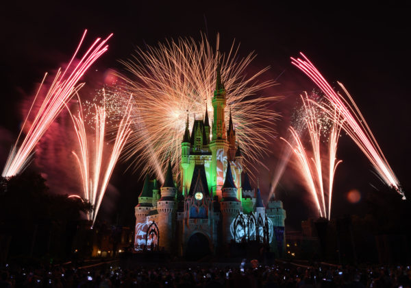 Disney fireworks are always fun, and HallowWishes follows in this tradition. Photo credits (C) Disney Enterprises, Inc. All Rights Reserved