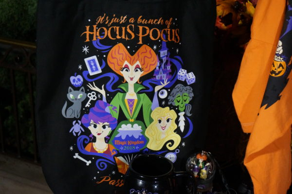 The Sanderson Sisters take on cartoon form on this festive t-shirt!