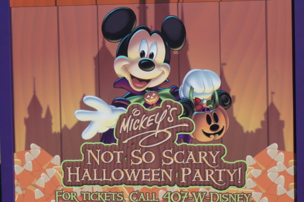 Mickey's Not So Scary Halloween Party is under way at Magic Kingdom!