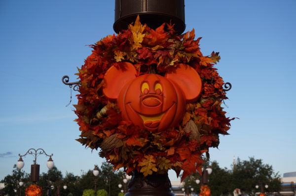 The Magic Kingdom will decorate for Halloween.
