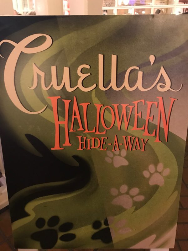 Welcome to Cruella's Halloween Hide-A-Way!