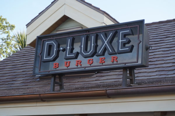 D-Luxe Burger, the high end burger join in Disney Springs also has mobile ordering!