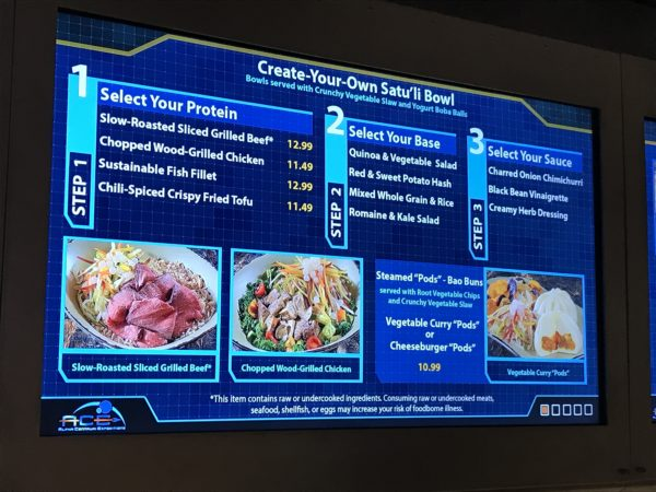 Satu'li Canteen offered mobile ordering when it opened in May.