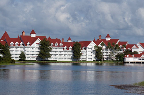 Enjoy lunch and the beautiful views at the Grand Floridian.