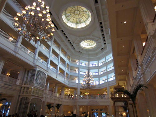 Enjoy the majestic beauty of the Grand Floridian.