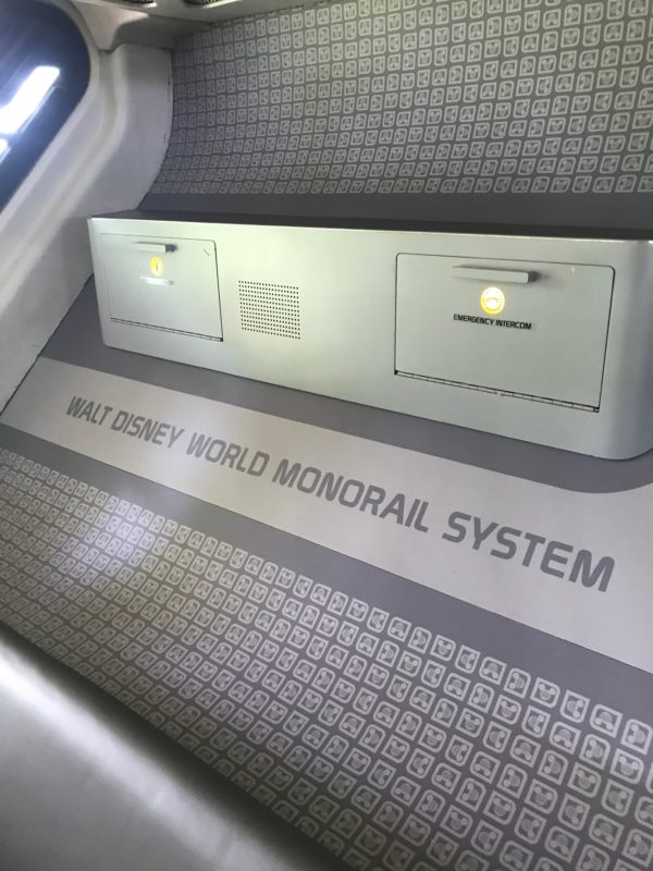 Thanks for riding on the Walt DIsney Monorail System!