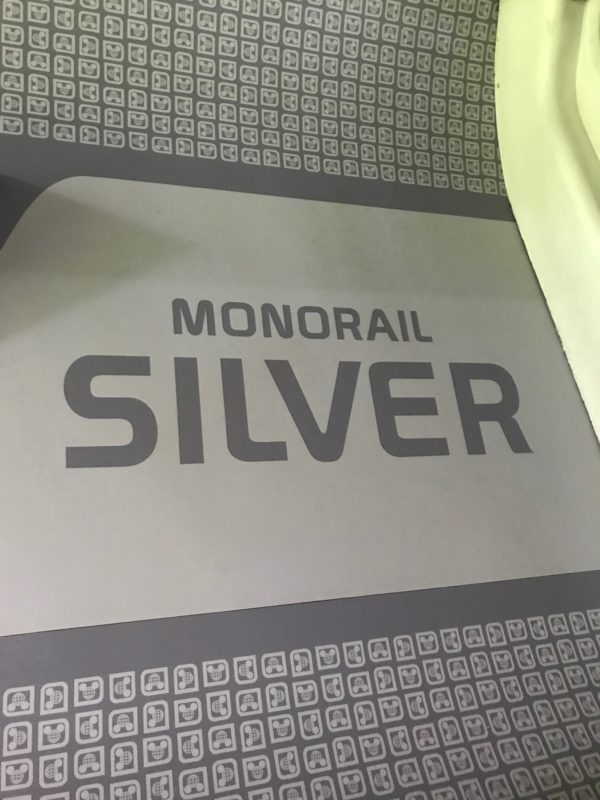 Monorail Silver got an interior and exterior makeover!