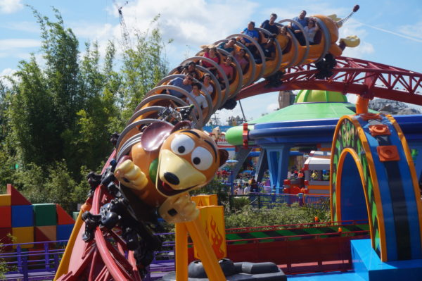 Slinky Dog Dash is a good choice for your FastPass+ reservation at Disney's Hollywood Studios.