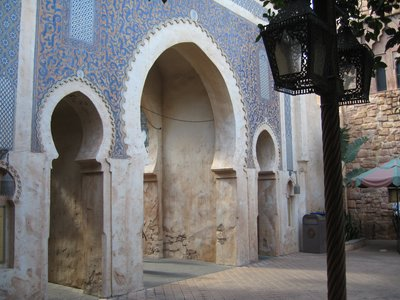Often overlooked, the Morocco Pavilion has many hidden alleys and stores to explore.