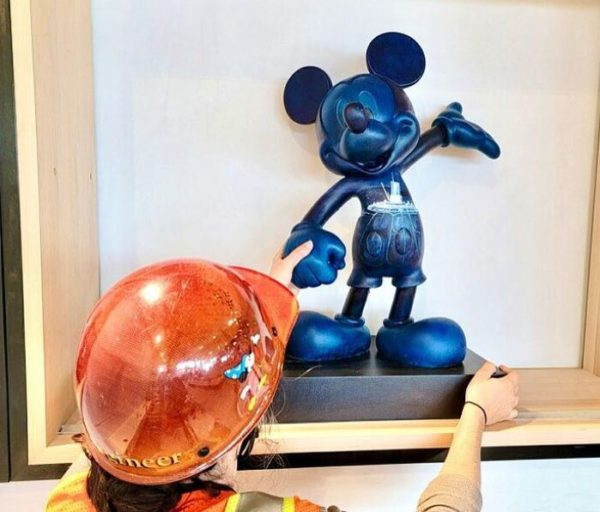 Disney is installing new art in the EPCOT Creations Shop. Photo credits (C) Disney Enterprises, Inc. All Rights Reserved