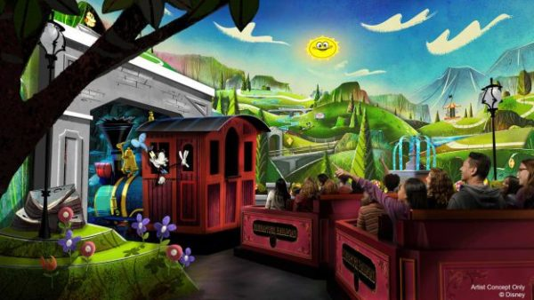 Mickey & Minnie's Runaway Railway is on the way! Photo credits (C) Disney Enterprises, Inc. All Rights Reserved