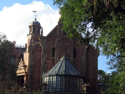 Aside from very small children who may be afraid of the dark, the Haunted Mansion is appropriate for guests of all ages.