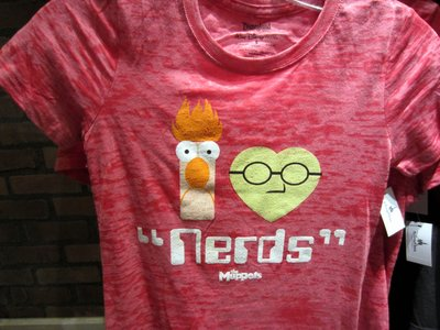 This Muppet Nerds T-Shirt is a personal favorite.
